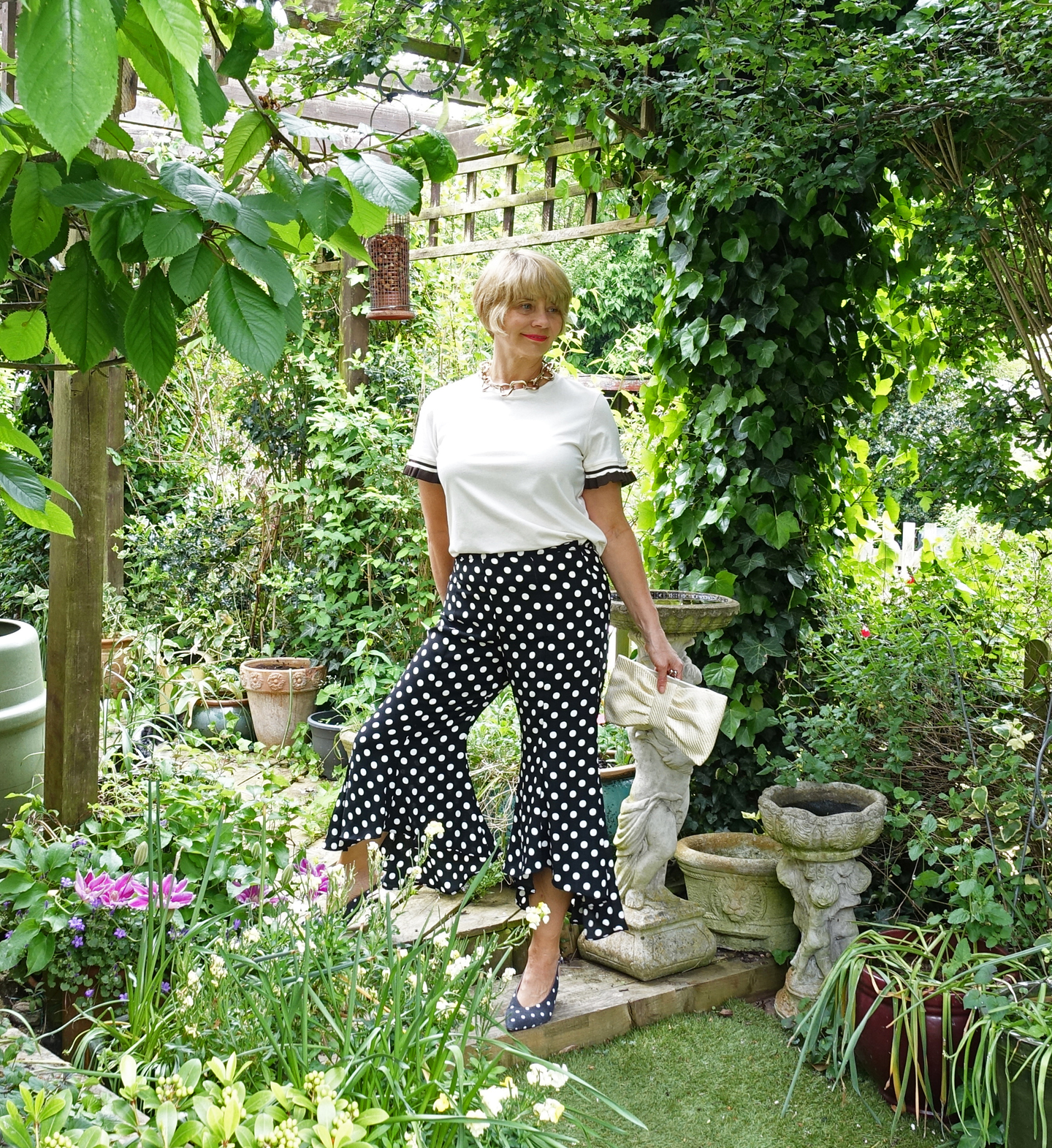 How easy is it for an older woman to wear this summer's wide and cropped culottes and trousers? Over-45s blog Is This Mutton? tries a couple of pairs for size.