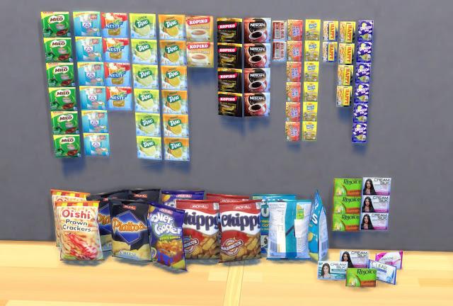 Sims 4 Pinoy Stuff Pack Pinoy Sari-Sari Store Items