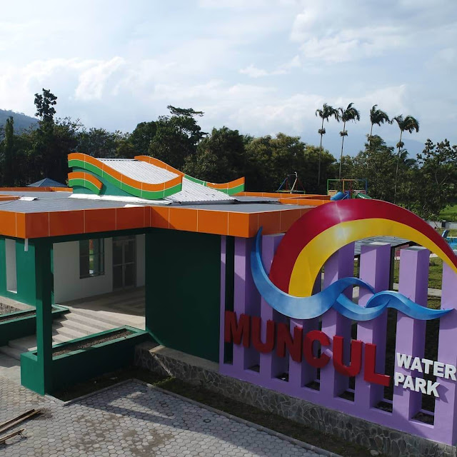 muncul waterpark banyubiru