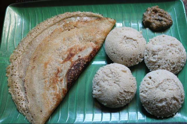 Cholam Idli & Dosa Batter Recipe - Jowar (Sorghum) Idli & Dosa Recipe