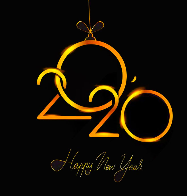 Happy New Year 2020 DP for Whatsapp