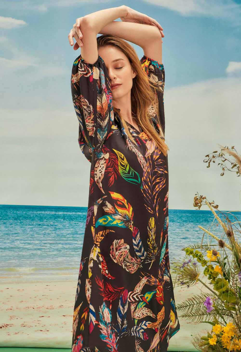 vestidos de verano estampados moda 2021 mujer