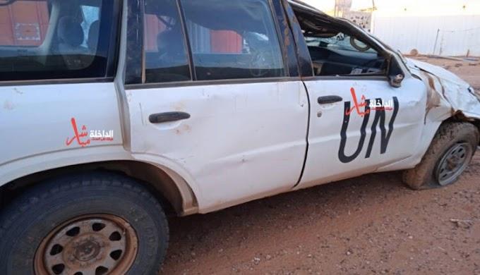 ⭕️ عاجل | إصابة ثلاث عناصر من المينورسو في منطقة المحبس.