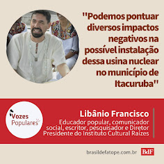 VOZES POPULARES CONTRA A USINA NUCLEAR