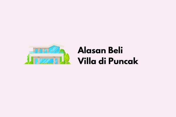 Villa di Puncak
