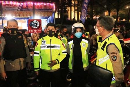 Perayaan Malam Pergantian Tahun Baru 2021, Polda Sulsel Gelar Patroli Skala Besar