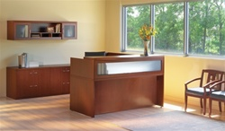 Mayline Aberdeen Reception Desk at OfficeAnything.com