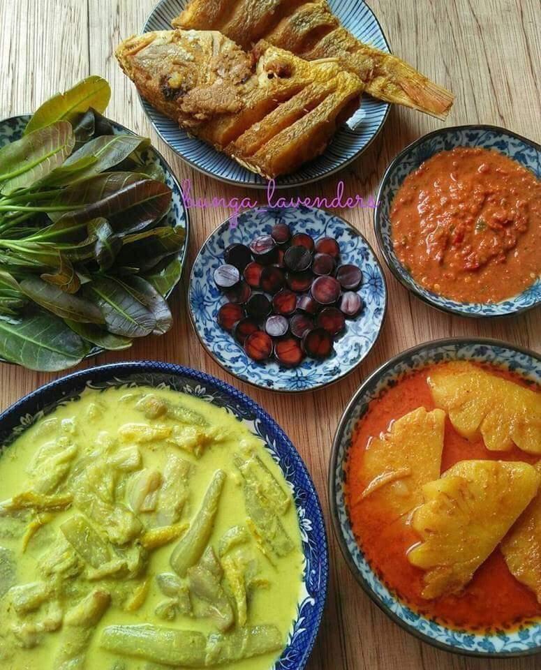 Masakan kampung untuk iftar ramadan buffet di hotel menu kampung