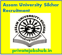 Assam University Silchar Recruitment