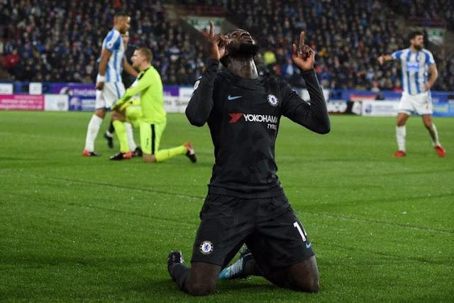 Hasil Liga Inggris Pekan 17 : Chelsea Tekuk Huddersfield 3-1