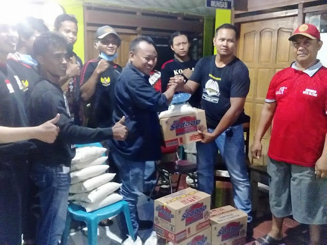 PSHT Kabupaten Blitar Bantu Keluarga ODP Covid-19