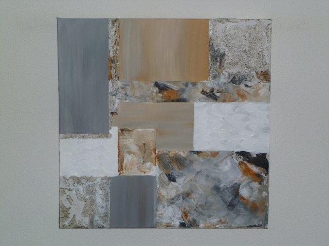Genoeg Marly Design: zelf modern schilderij maken &HR08