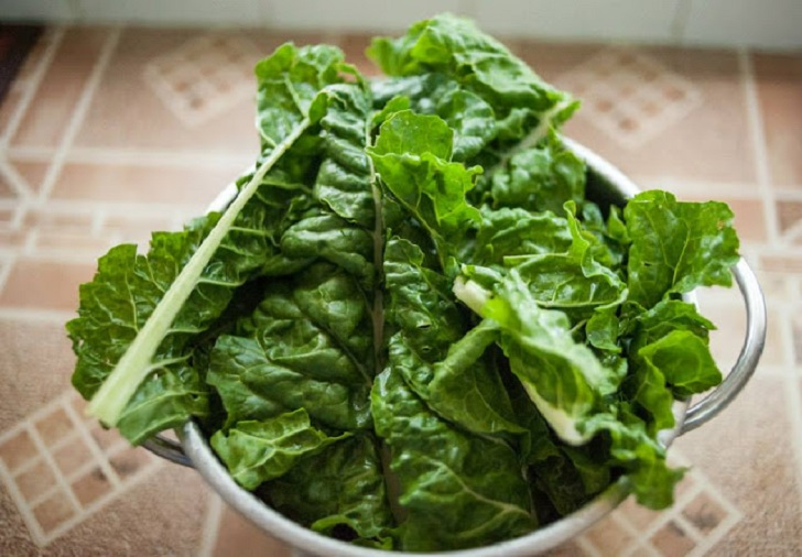 How to cook spinach or any soft greens