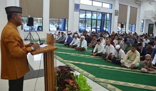 Danlanud Supadio Marsma TNI Minggit Tribowo, S.IP. Sumber Foto : Kepala Penerangan Pangkalan TNI AU Supadio