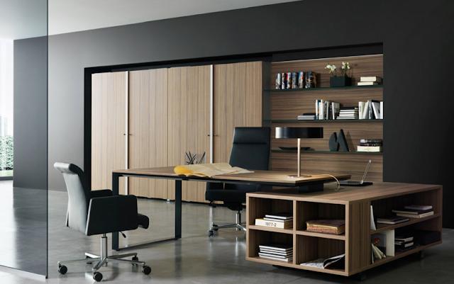 gambar ruang kerja minimalis