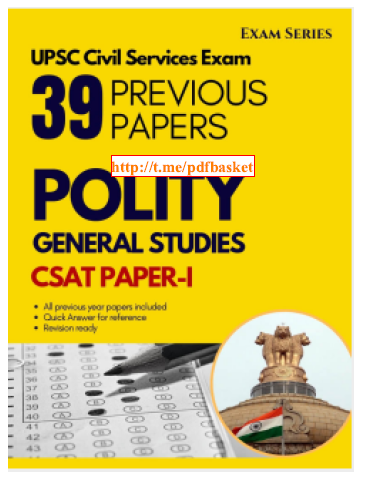 Polity General Studies :  For Civil Service Exam PDF Book