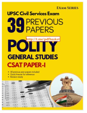 Polity General Studies :  For Civil Service Exam PDF Book