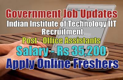 IIT Recruitment 2020
