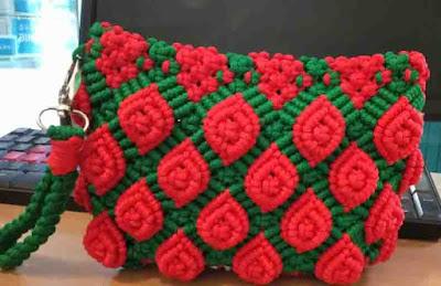Membuat Tas dari Tali Kur