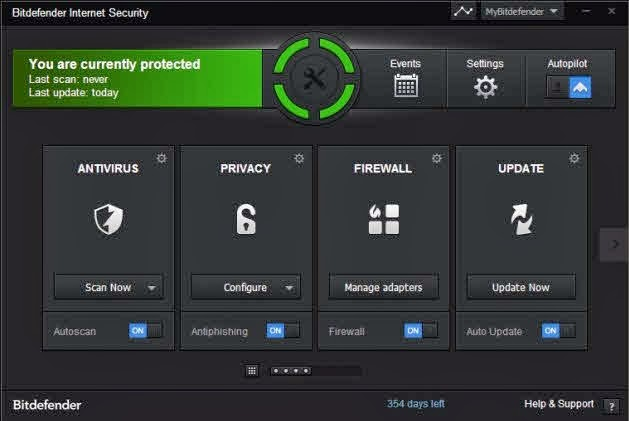 Bitdefender total security 2014 serial key or number