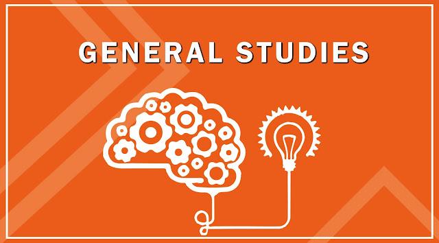 General Studies for SSC CHSL 2017