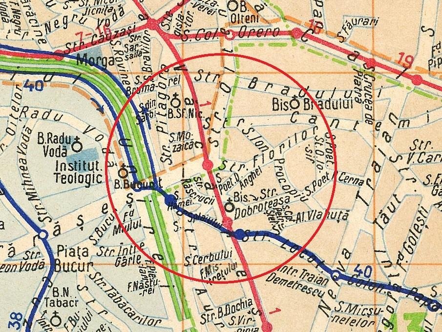 Unknown Bucharest Piata Marasesti In August 1985