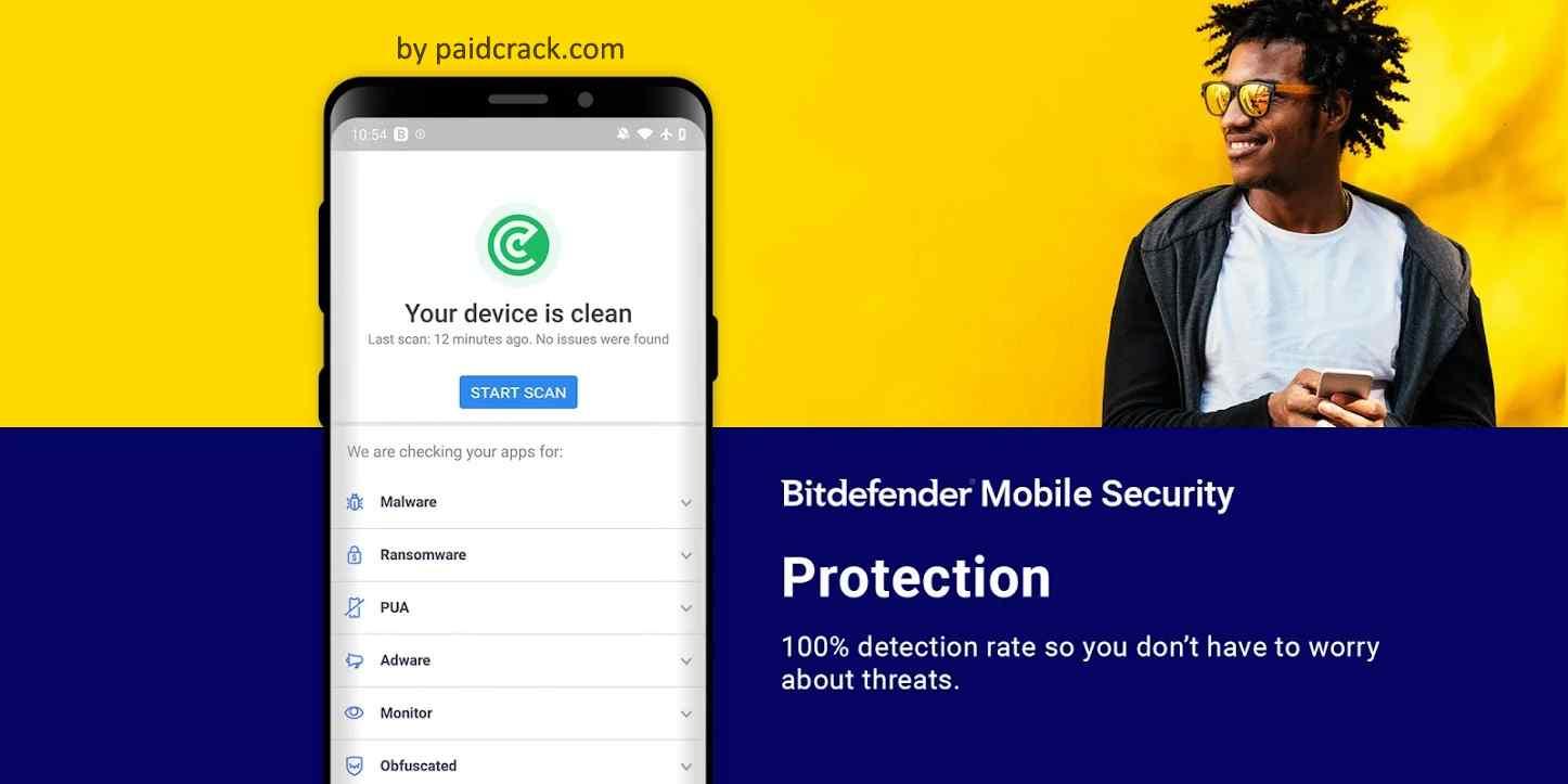Bitdefender Mobile Security & Antivirus Premium Mod Apk 3.3.13