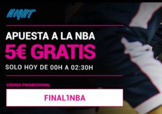 Goldenpark apuesta gratis Final NBA 1-10-2020