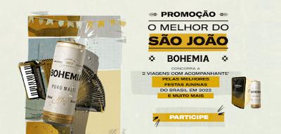 Promoção Bohemia O Melhor do São João