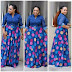 Photos of Beautiful and Colorful Floor Length Designer Floral Skirt