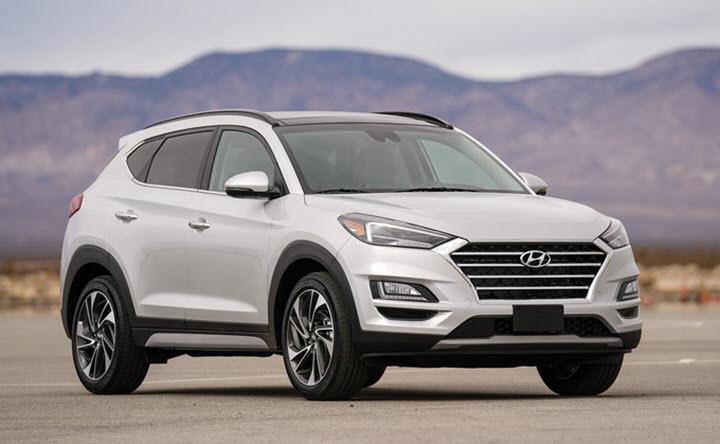 Hyundai Tucson 2021 có thể dùng màn hình kiểu máy tính bảng