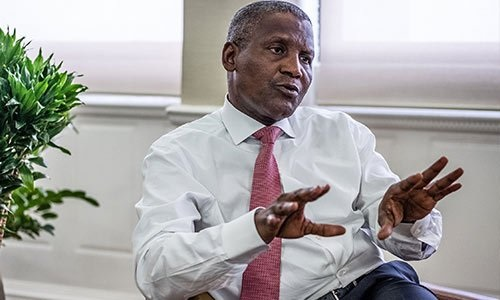 I Am Not A Co-Owner Of Executive Jet Services Ltd — Dangote
