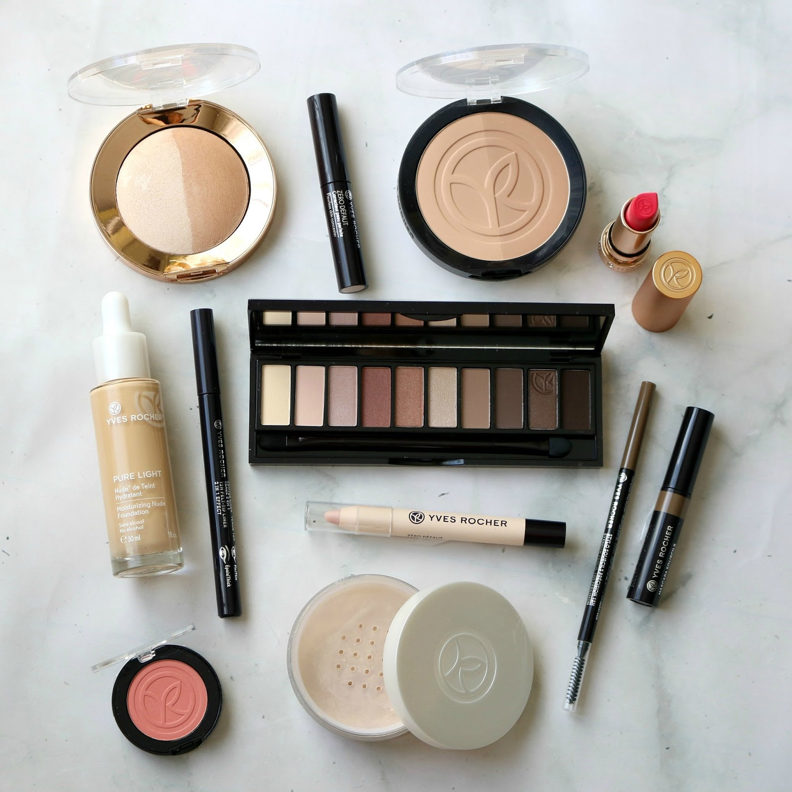 Yves Rocher Spring Makeup Look Products