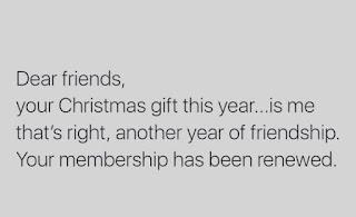 Christmas, Presents, Friends Break Meme