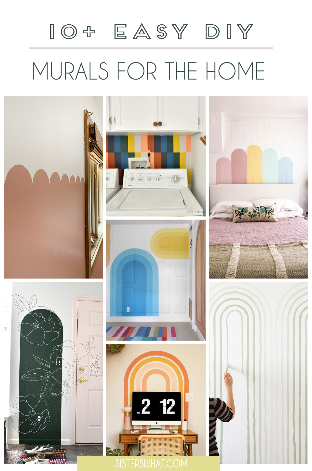 wall mural ideas for the home