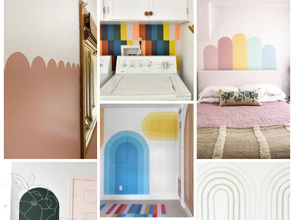 10+ EASY diy murals to do in your house