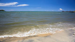 Sandy beach of Vypin Island, Kochi
