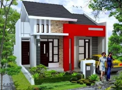 koleksi desain rumah minimalis perkotaan