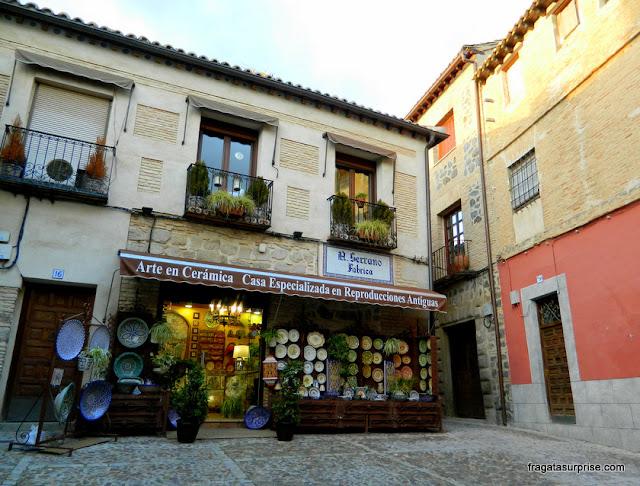 Cerâmica, artesanato típico de Toledo, Espanha