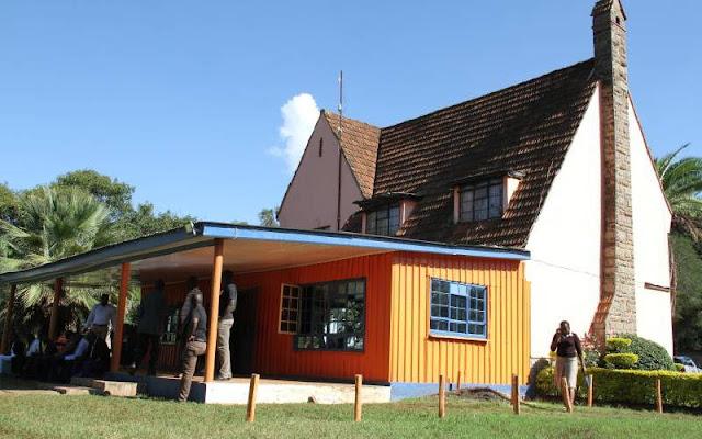 New 180M Orange house. PHOTO | NMG