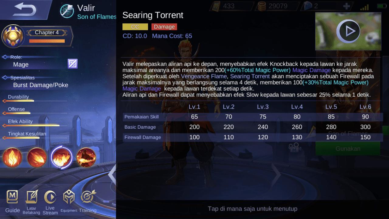 Setelah Revamp, Akankah Valir Mobile Legends Jadi Hero Favorit? 3