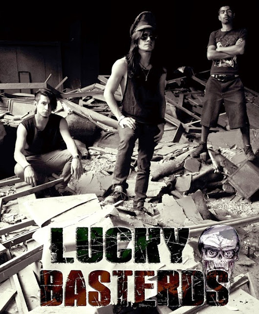 1ER VIDEO de Lucky Basterds-Live Session. Éste Domingo-22hrs en http://www.youtube.com/LuckyBasterdsLB