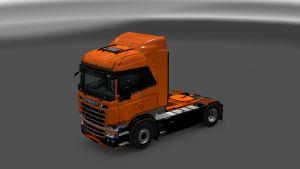 Orange Legend Skin for Scania RJL