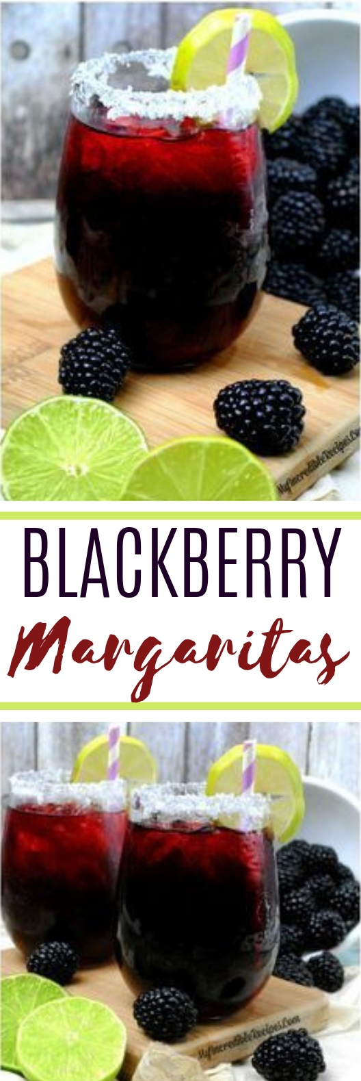 Blackberry Margarita Smash #cocktail #summer
