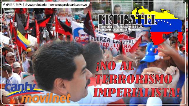 Pronunciamiento de FETRATEL ante el atentado en contra del Pdte Nicolas Maduro