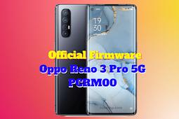 Firmware Oppo Reno 3 Pro (PCRM00)