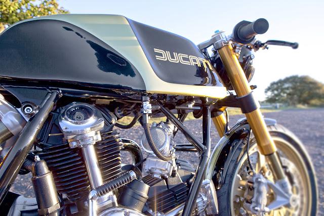 Ducati Darmah 1980 By Rasio CC Hell Kustom