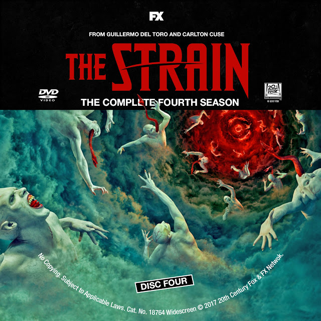 The Strain Season 4 Disc 4 DVD Label