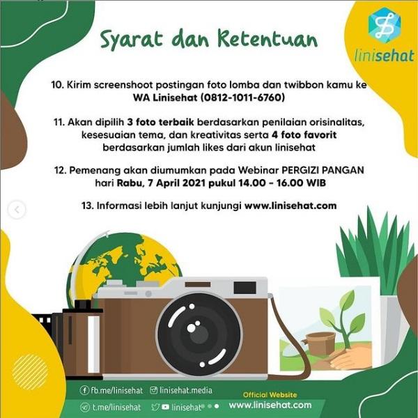 """Lomba Foto dengan tema """"Jaga Lingkungan agar Lebih Sehat"""""""