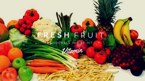 buah dan sayur sumber vitamin anak untuk daya tahan tubuh